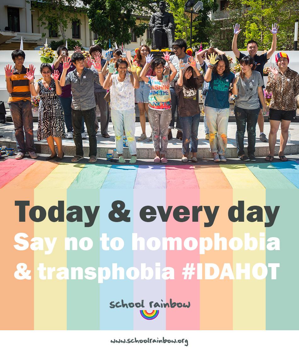 โครงการโรงเรียนสีรุ้ง ได้จัดทำเวปไซต์ เพื่อสร้างการตระหนักต่อปัญหาการรังแกนักเรียน LGBT อย่างต่อเนื่องทั้งในไทยและที่อื่นๆ   ©UNAIDS/UNESCO/A.Martin