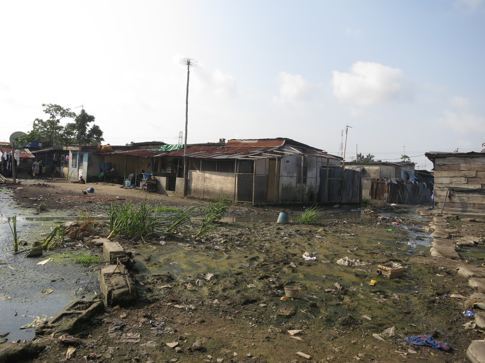 Slums are the result of inadequate, non-participatory, urban planning, and frequently struggle with flooding and nonexistent waste collection.