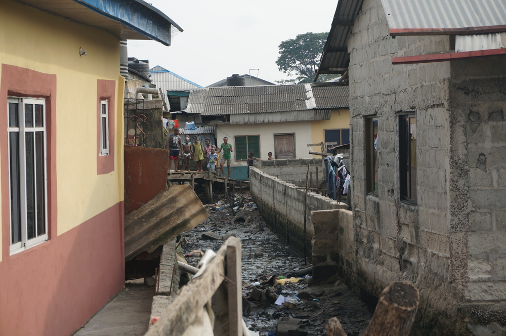 In Port Harcourt, waterfront communities built on land reclaimed from mangrove swamps provide some of the most affordable housing in the city, but suffer from poor or nonexistent infrastructure.