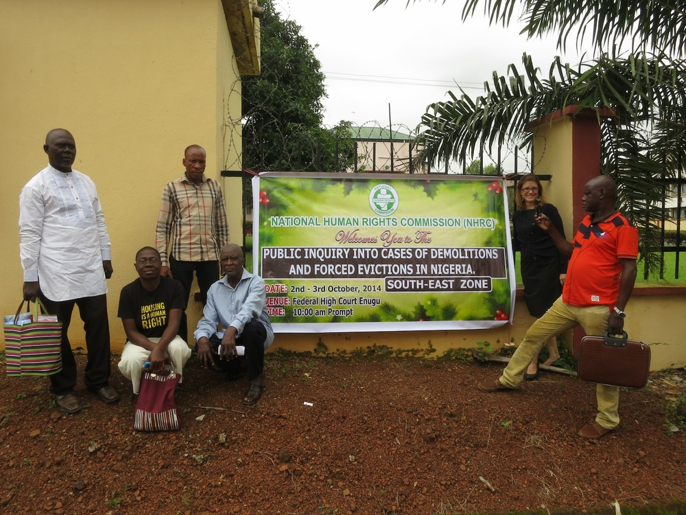 Abonnema Wharf and Ogoniland evictees attend public inquiry on forced eviction in Enugu