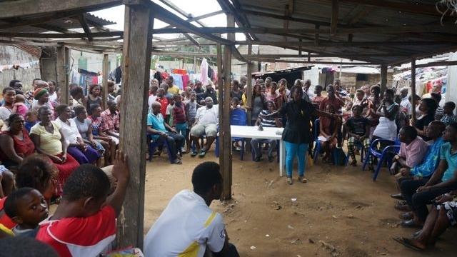 Lagos slumdweller federationtrains Port Harcourtwaterfronts onsavings groups