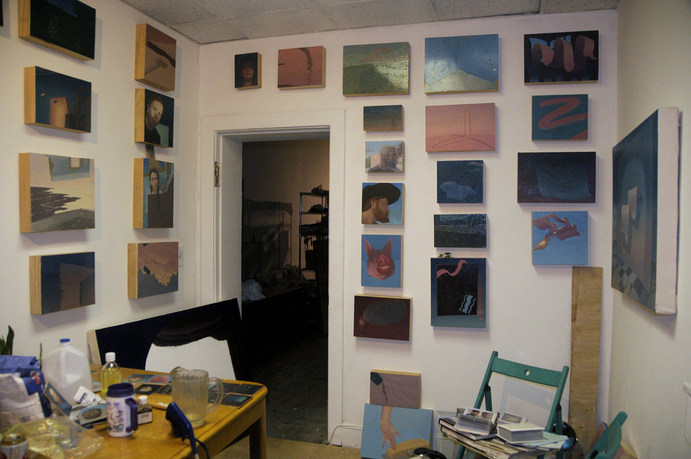 Ian Reynolds's Studio in Baltimore