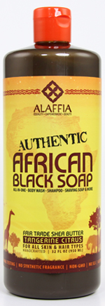 Authentic African Black Soap Whole Foods