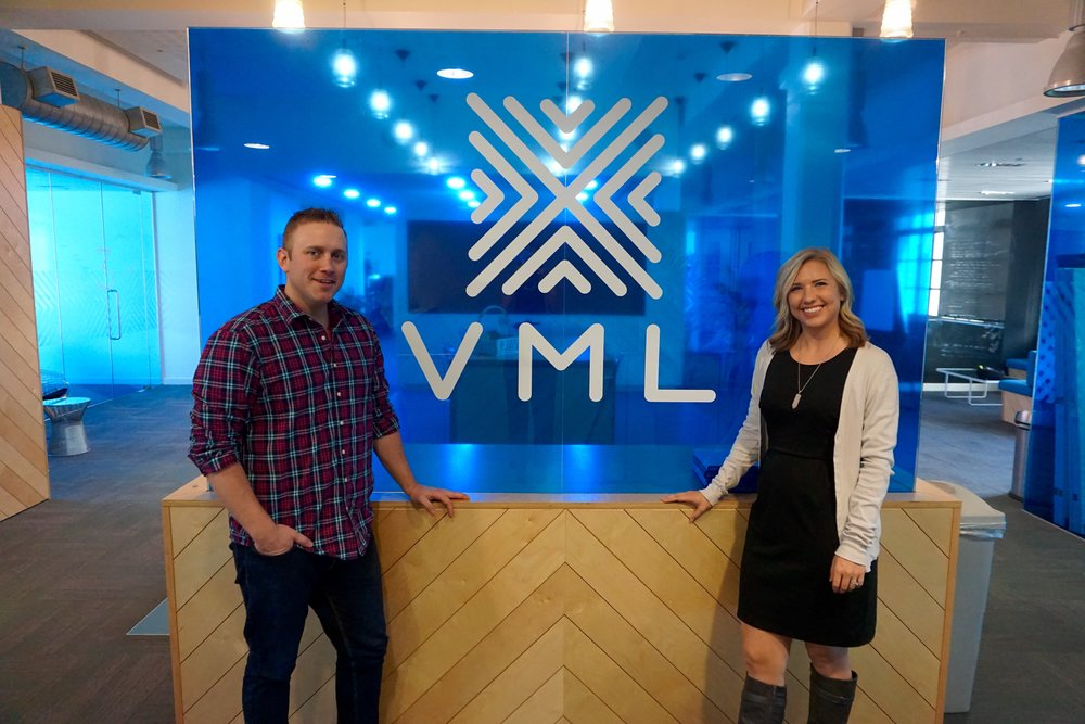 VML London office (Yes, my husband and I have the same employer)