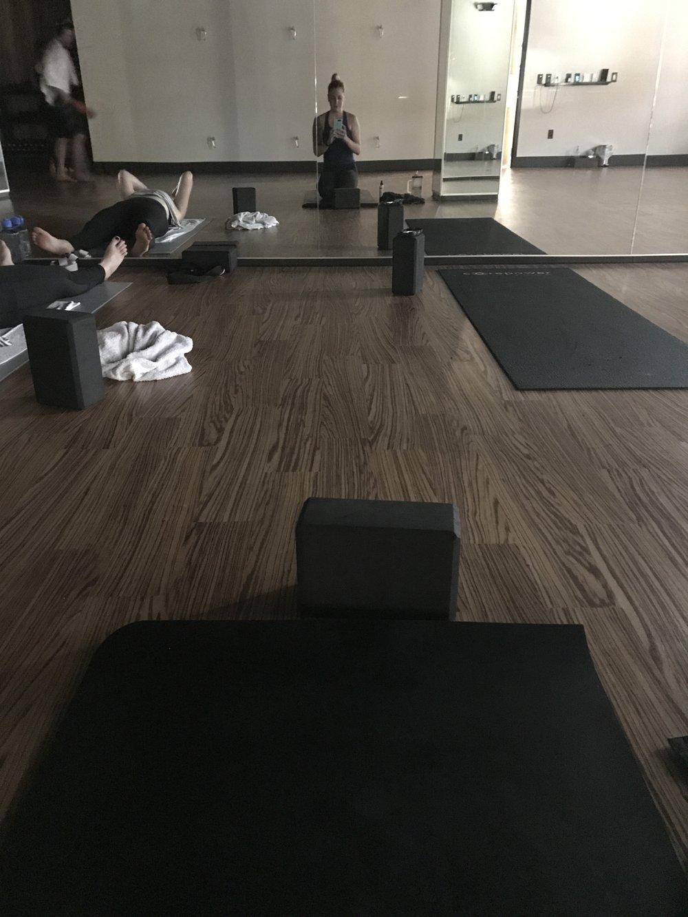 hot yoga postpartum