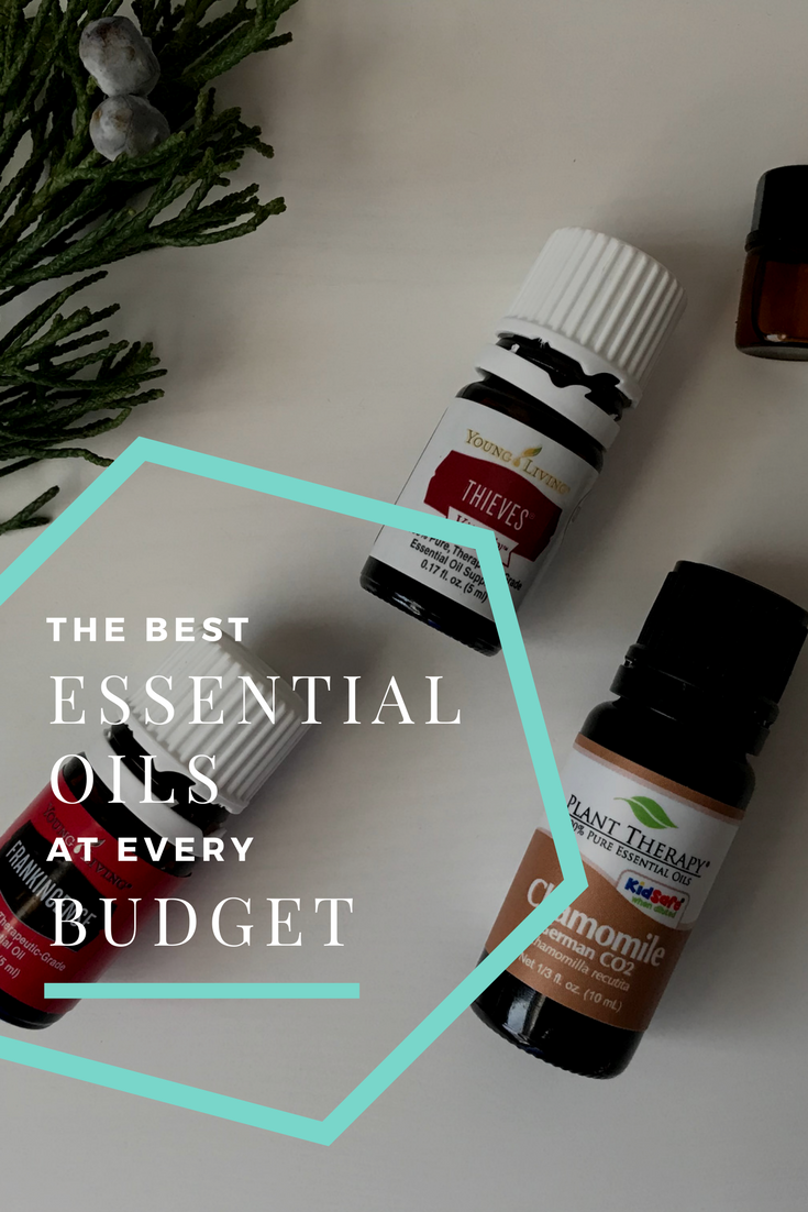 Best essential oils at every price point — even just a few dollars!