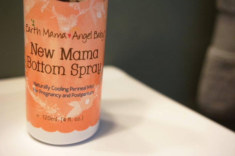 new mama bottom spray - postpartum essentials