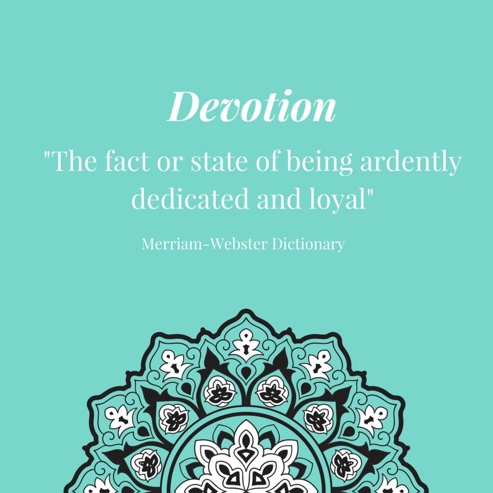 Devotion definition