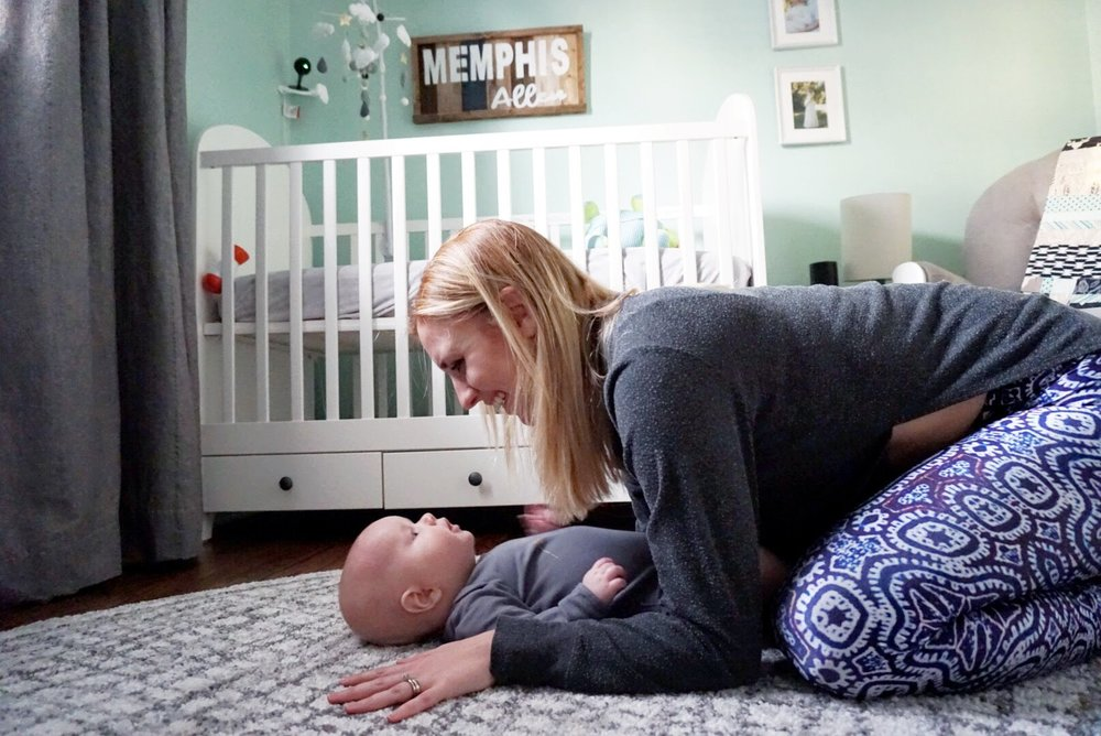 Day in the life of a stay-at-home mom, yoga instructor and writer
