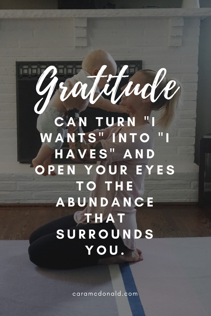 Authentic gratitude versus obligation and a yoga flow for harvesting appreciation