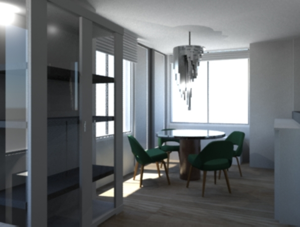 3D realistic rendering of one of our projects