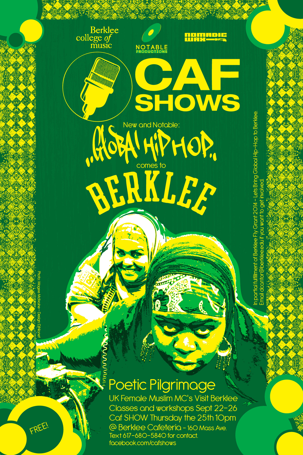 Global Hip Hop Event at Berklee College
