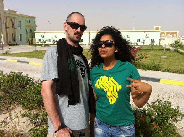 Me & Medusa at Assalam Alekoum Festival, Nouakchott (Mauritania), 2013.