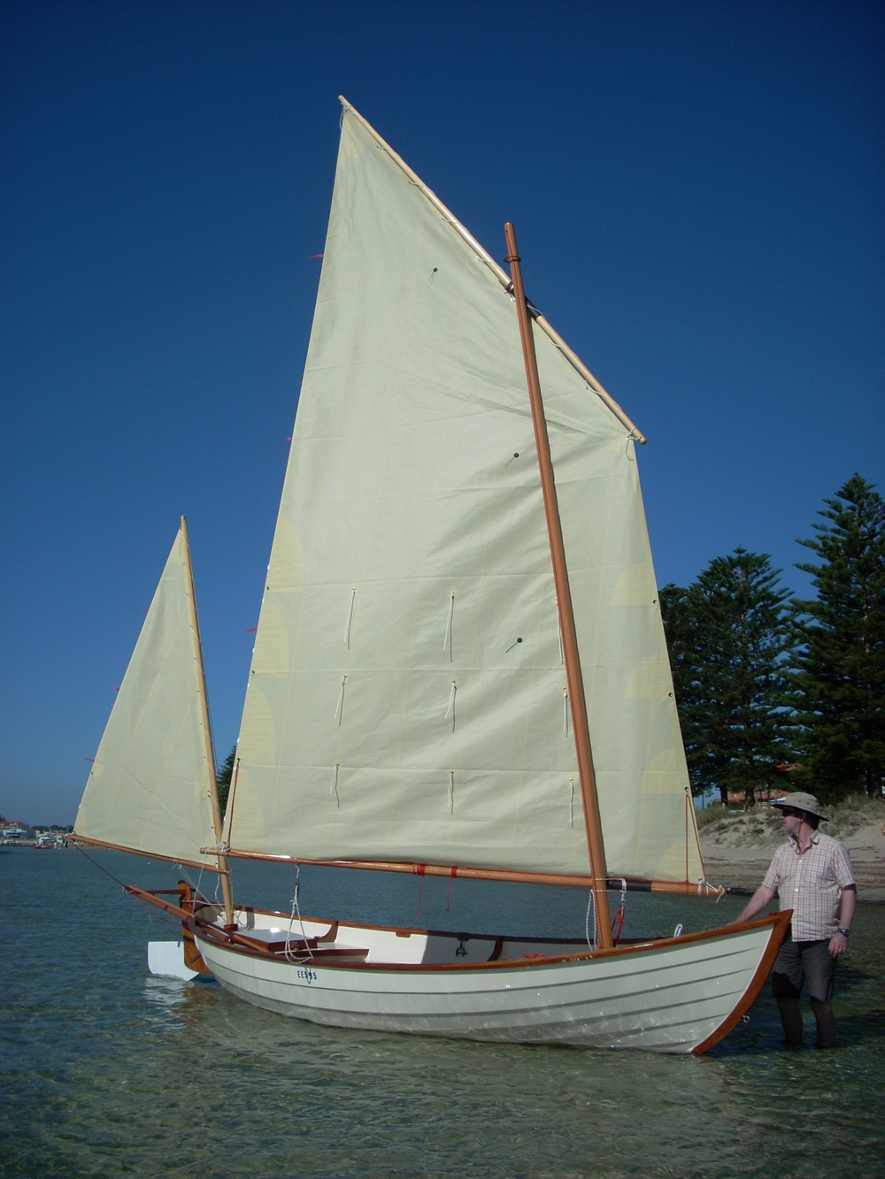 O'Connor Wooden Boats. Unit 4, 12 Day rd. East Rockingham. 6168 Western Australia. Phone 08 95921826.  Mobile 0423 284502