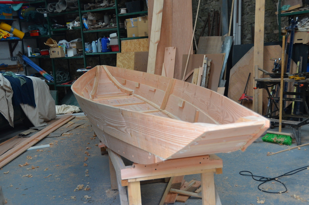 Shannon River Punt — O'Connor Wooden Boats