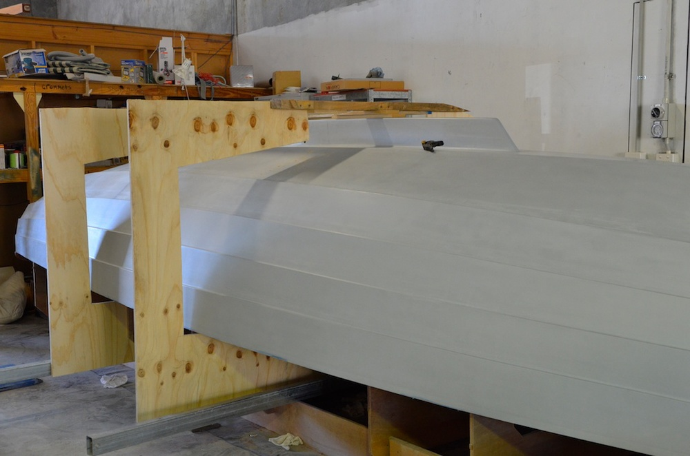 O\'Connor Wooden Boats- Turning Hull