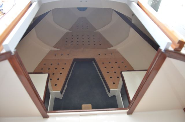 Companionway looking forward.