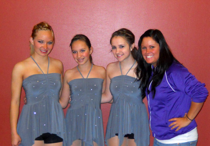 First Competition Team with Jeana - 2010