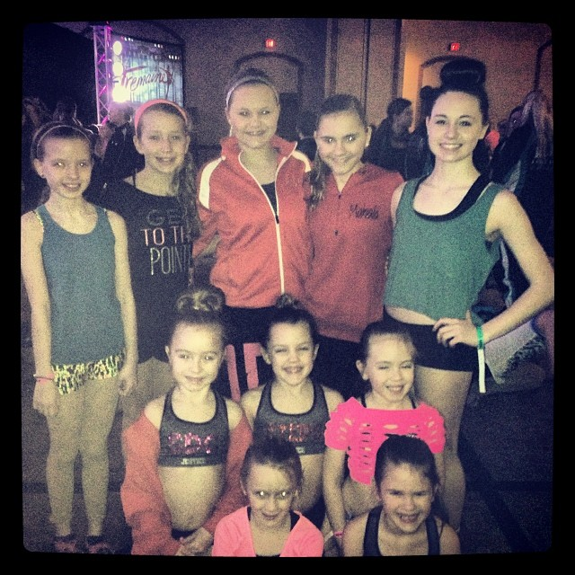 Competition team at Tremaine Dance Convention