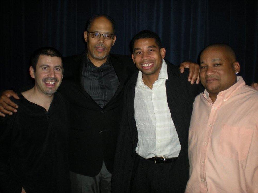 Benjie Porrecki, me, Dave Dyson and Bryan Fox.jpg