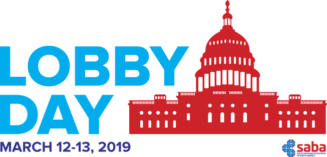 SABA North America is pleased to return to Washington, D.C. for its 3rd Annual Lobby Day this March 12-13, 2019. Members from across the country will gather to gain a deeperunderstanding of the issues that affect the South Asian community and then meet with key Members of Congress and their staffs to educate them on those issues. It is our chance to make our voices heard with the people who make our laws.  Jana Anandarangam from our local chapter will be there - will you?!
