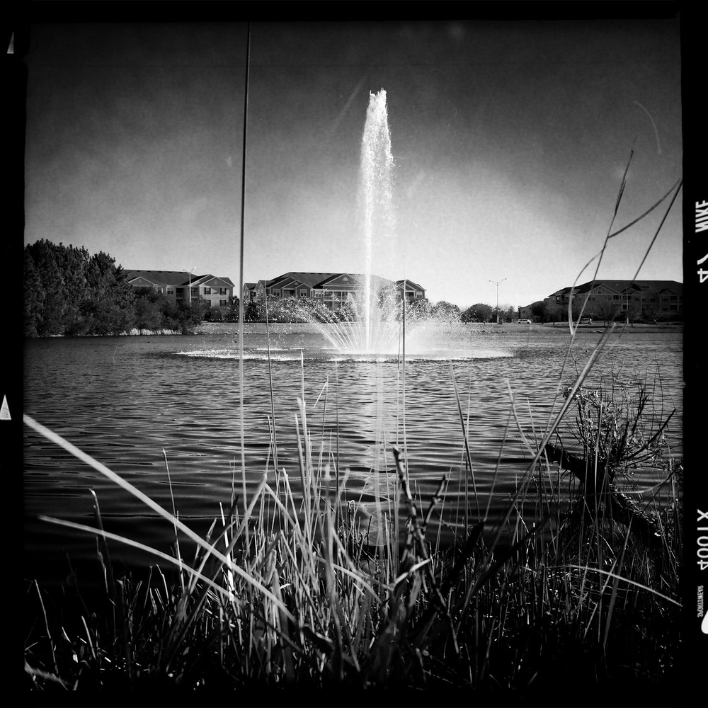 The Fountain John S lens with AO DLX film