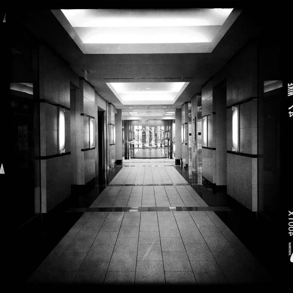 Office Lobby John S lens with AO DLX film