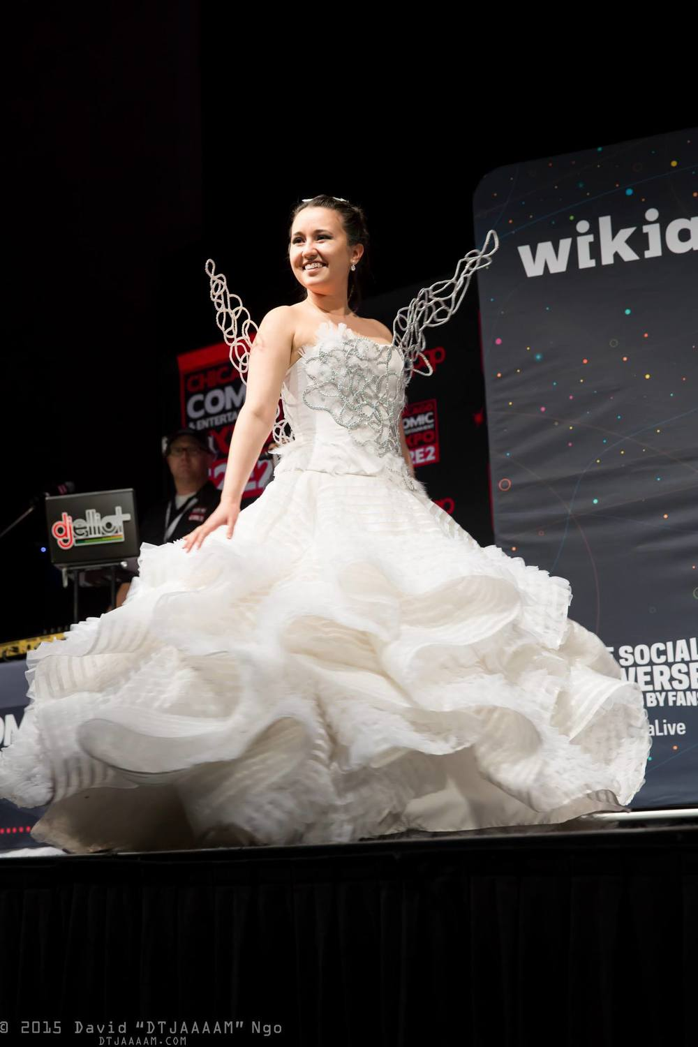 Wedding Katniss Wedding Dress katniss everdeen wedding dress bonkyubombgirl studios this is currently for sale measurements pricing please contact me at bonkyubombgirlgmail com
