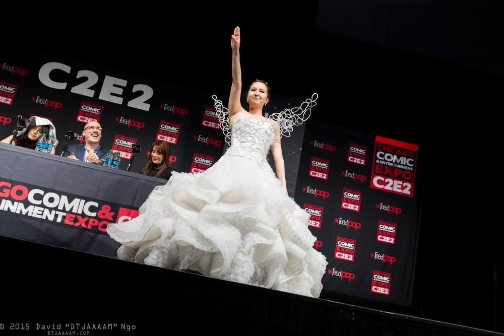 Katniss Everdeen Wedding Dress Dana Digrispino