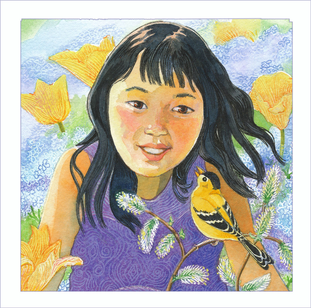 Lily and the Chickadee