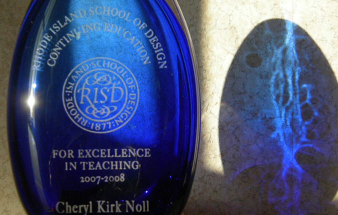 Award for Excellence in Teaching, RISD-ce