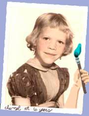 Cheryl in first grade