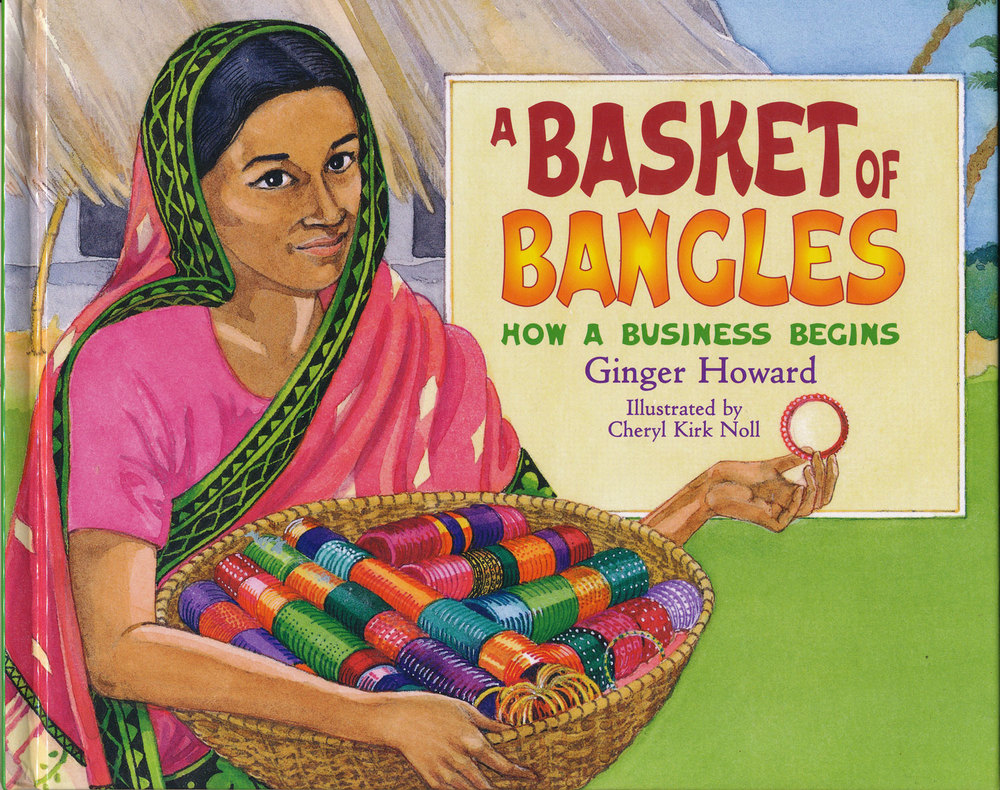 A Basket of Bangles, by Ginger Howard, Millbook Publishing