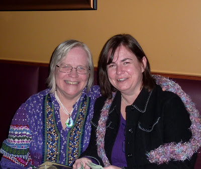 Cheryl Kirk Noll and Lena Goldfinch