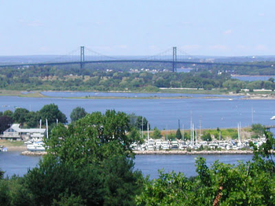 A view of Aquidneck Island in RI
