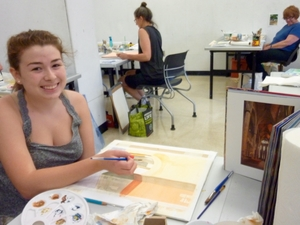 Jun 15 2015 Teaching At RISD CE Classes Watercolor Technique Cheryl Noll 1 Comment