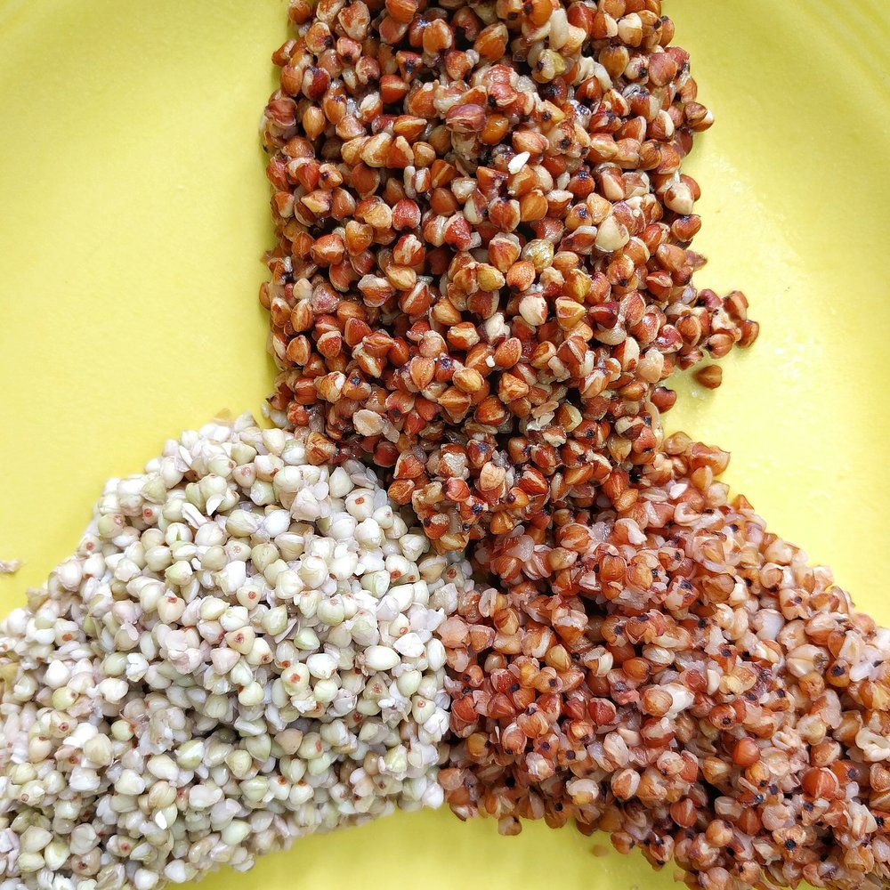 Nixtamalized buckwheat