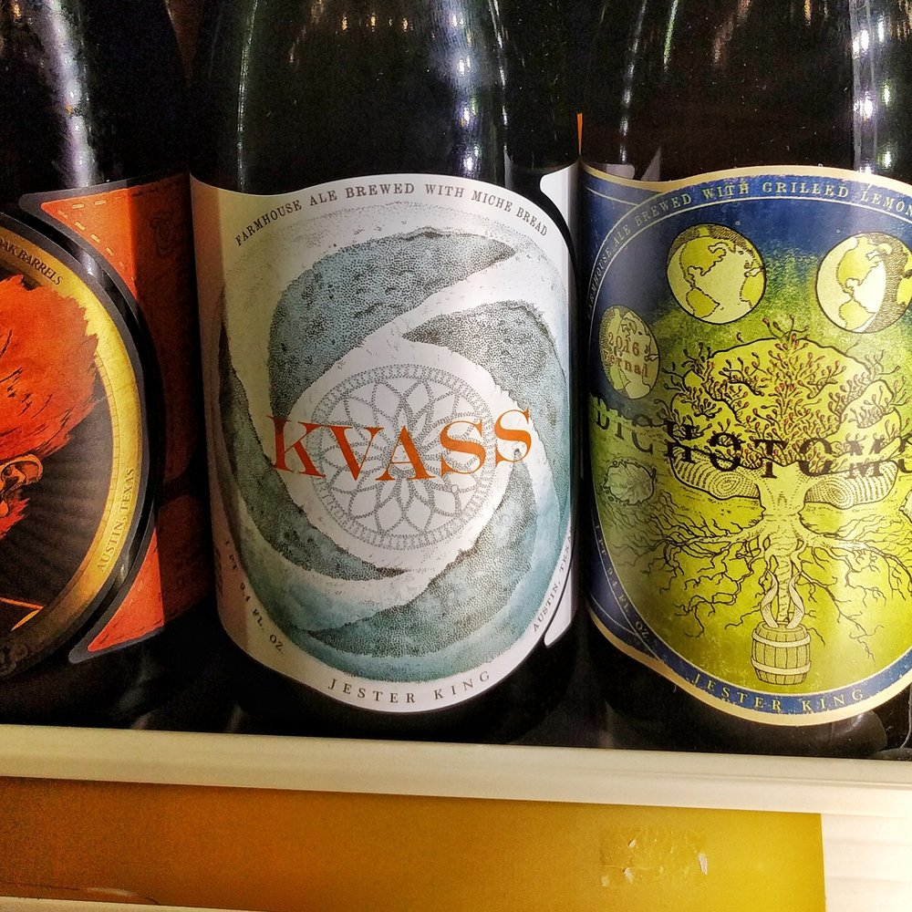 Collaboration kvass w/ Jester King Brewery
