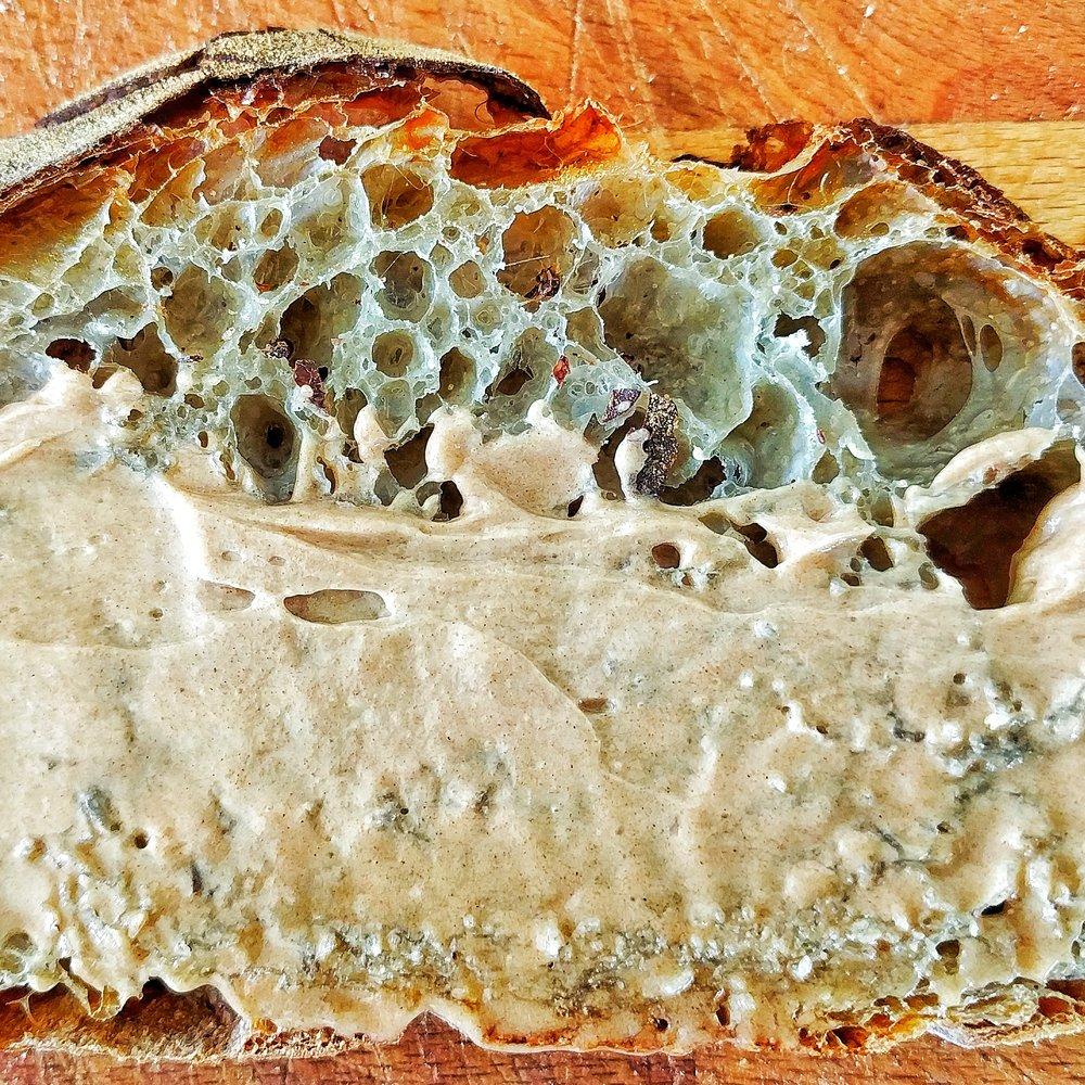 Mesquite bread + mesquite butter