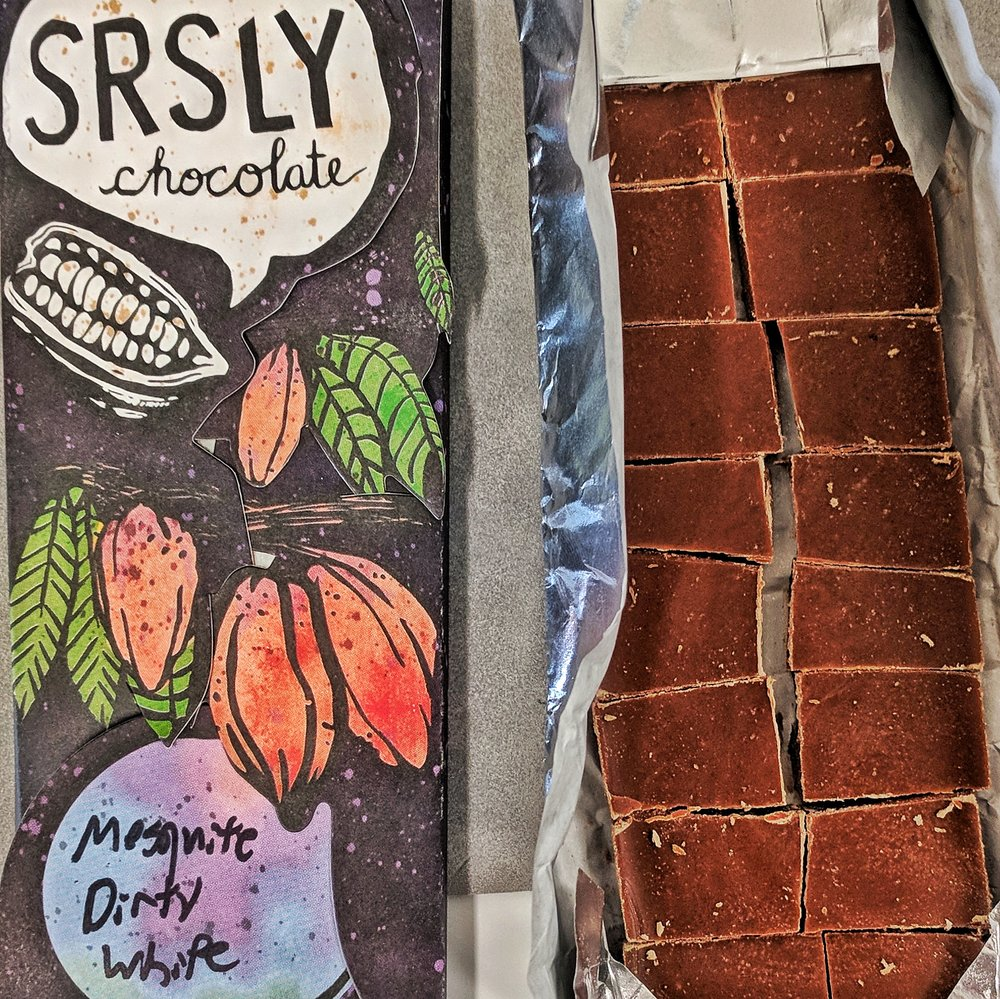 SRSLY Chocolate's Mesquite Dirty White