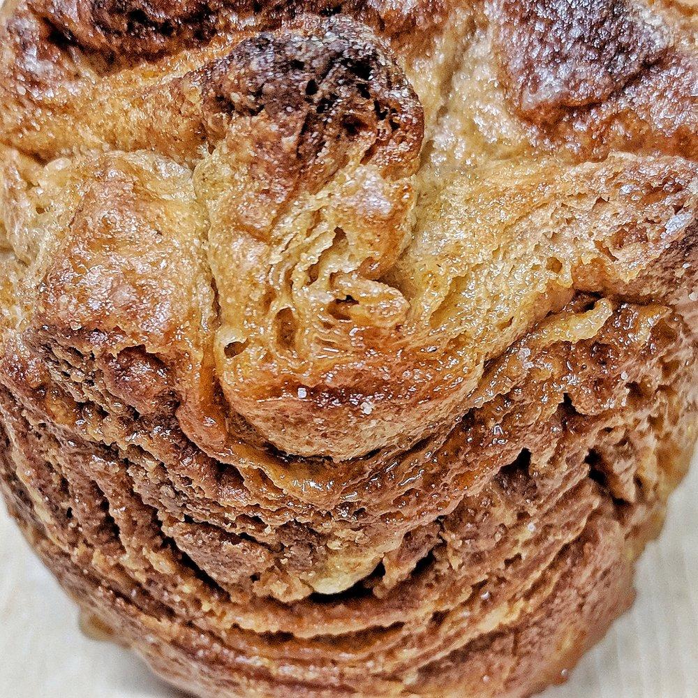 Rouge de Bordeaux wheat kouign amann
