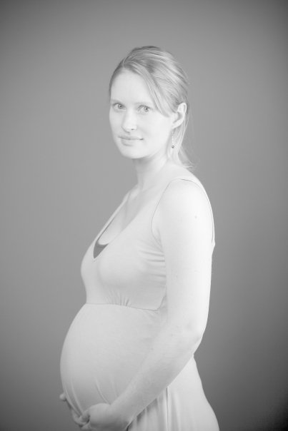 26 weeks pregnant with my son after a preterm labor scare.