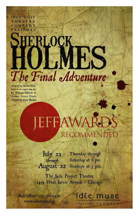 jeff awards nomination: best principle actor in a play, luke hamilton
