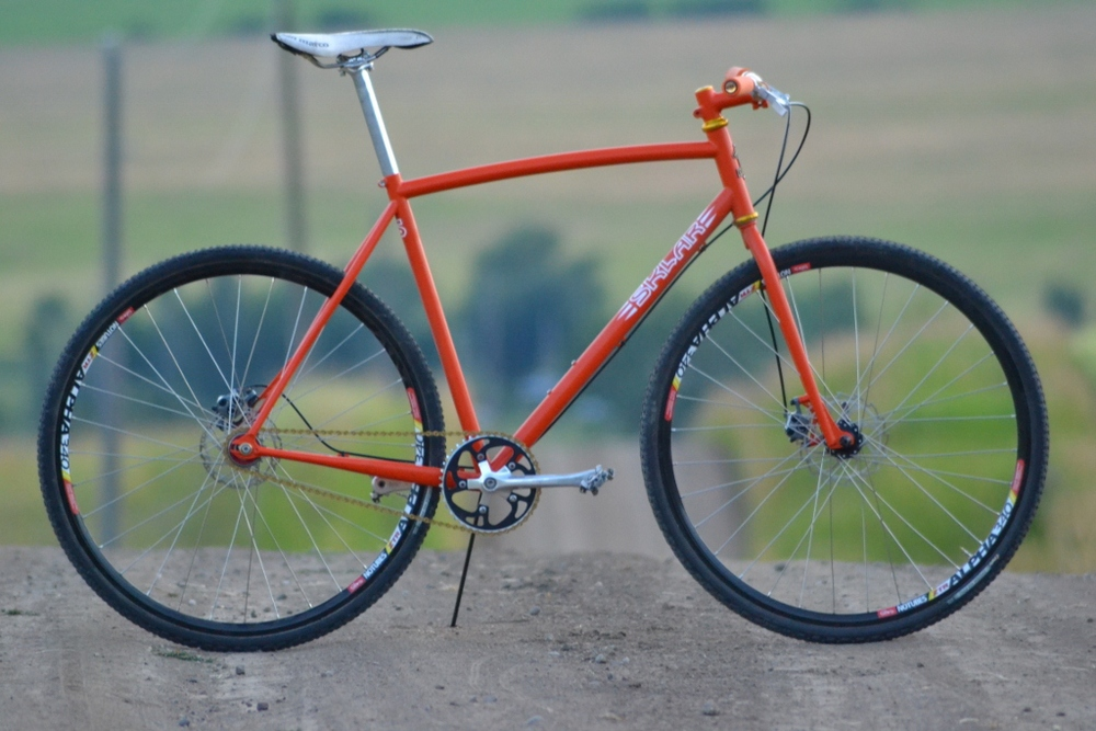 My new Cyclocross Bike — Sklar | Handmade Bicycle Frames. Mountain ...