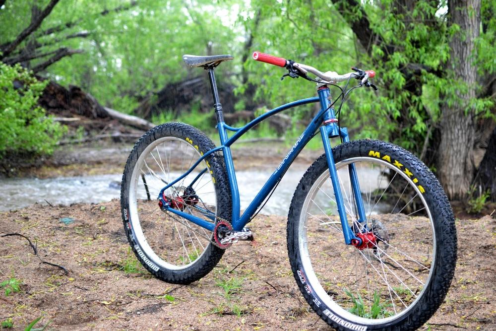My 29 Plus Single Speed Sklar Handmade Bicycle Frames