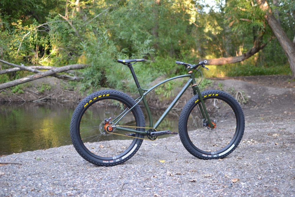 Scott S Custom Sklar Handmade Bicycle Frames Mountain