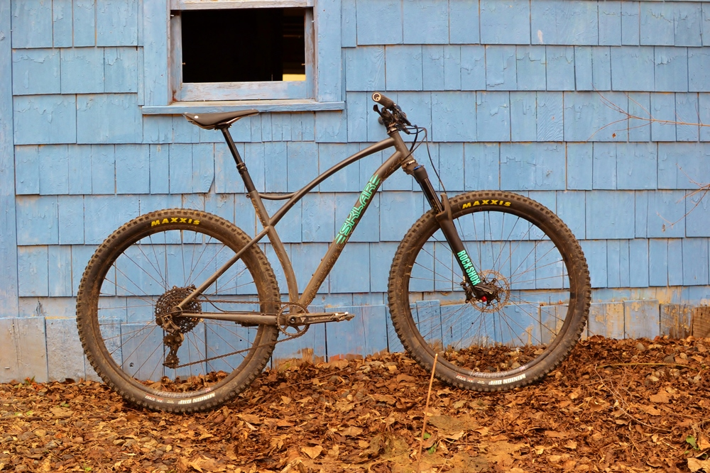 Sklar 29er mountain bike