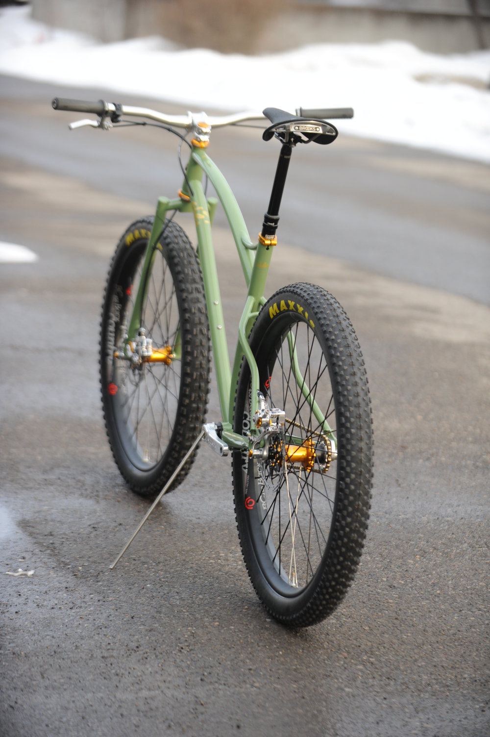 custom mountain bike