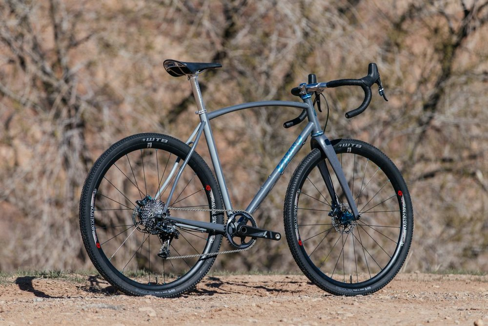 custom all road gravel bike