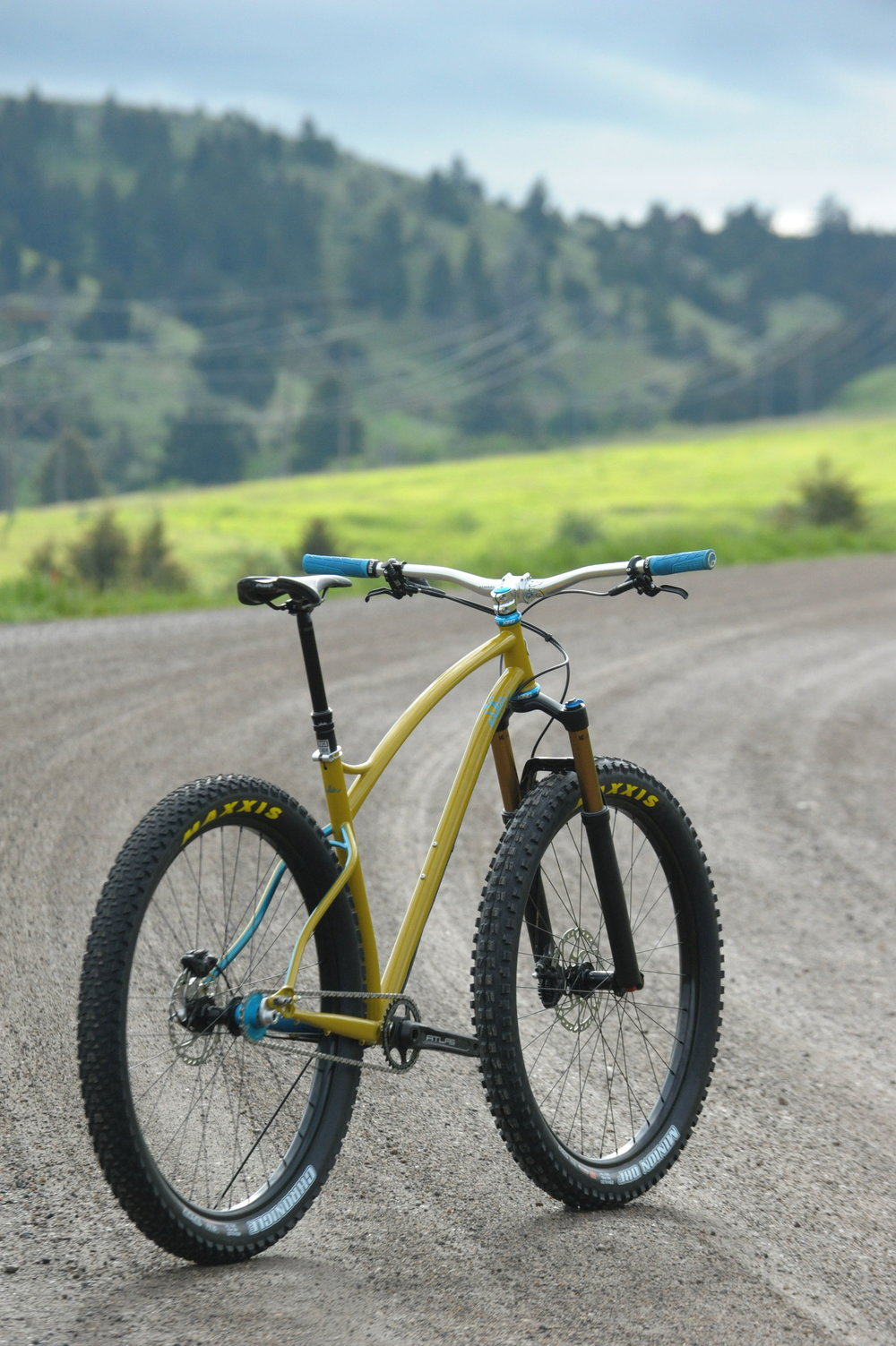 custom 29plus mountain bike sklar